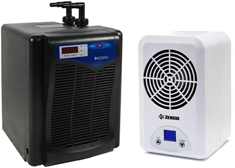 水槽用クーラーで水槽を冷やす場合は導入費用がかかり電気代も高め