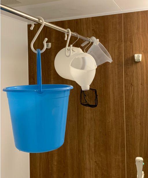 アクアリウムのメンテナンス用具はその日のうちにお風呂で洗って浴室乾燥