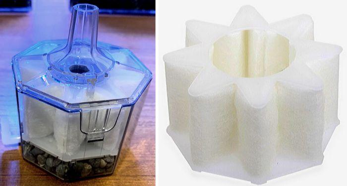 ウールマットは物理濾過だけでなく生物濾過も行うことができる
