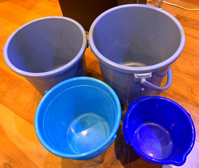 水換えをする際には水槽の大きさや換水量に合わせた大きさのバケツがあると便利