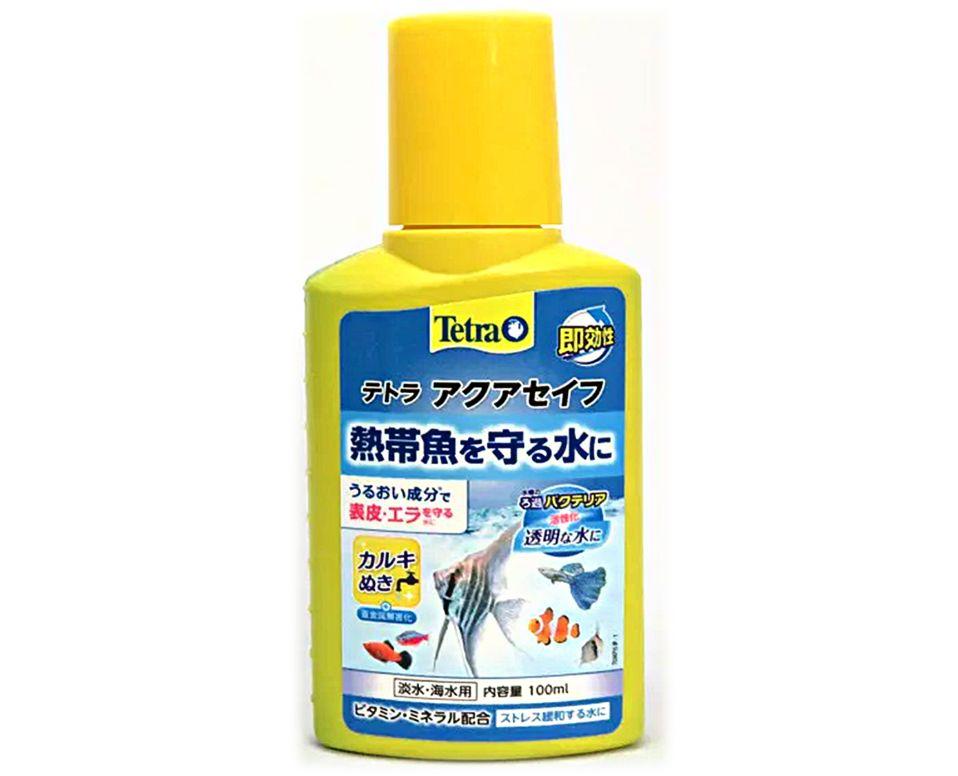 アクアセイフは粘膜保護やカルキ抜きだけでなくビタミンやミネラルも配合した総合水質調整剤